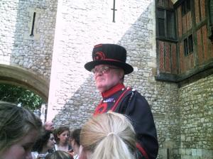 Yeoman Warder Ravenmaster (full title!) Derrick Coyle