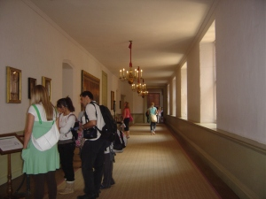 The Haunted Corridor, where Catherine Howard - another of Henry's wives, that man got around - is said to still lurk