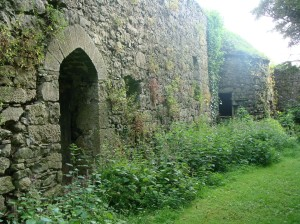 Foulksrath Castle\'s surrounding wall