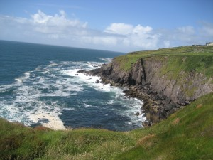 The Irish coast