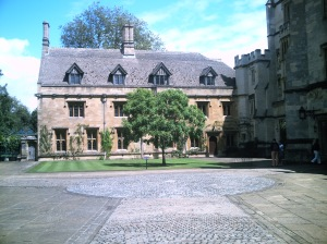 Magdalen College Court