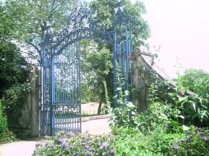 Gate to Addison's Walk