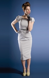 The Greta Garbo dress by Stop Staring for Shabby Apple.  Drool...