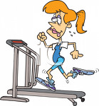 3316_picture_of_a_wornout_woman_on_a_treadmill