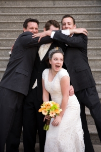 ...Although...all this family can be a little overwhelming.  Meeting/marrying into a clan, not for the feint of heart!