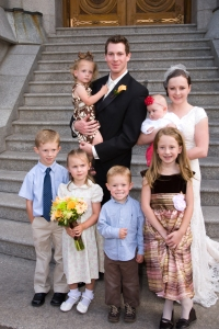 No, not their six secret illegitimate children, C.'s newly acquired nieces and nephews!