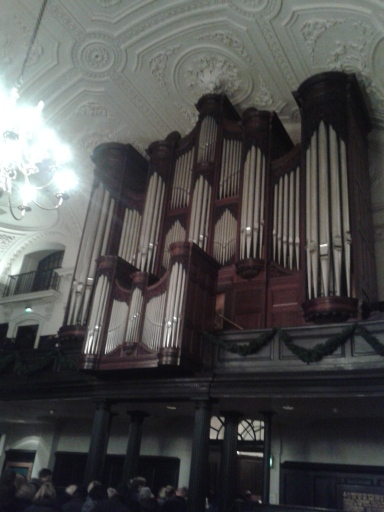 The justifiably famous organ.