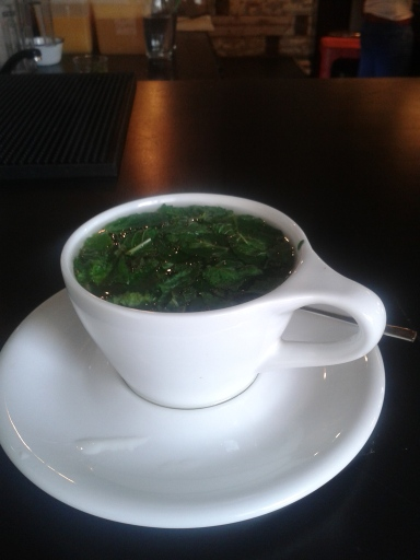 Fresh mint tea when I can get it!