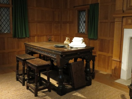 A 17th century dining and main family area.