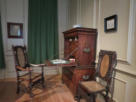Early 18th century writing desk.