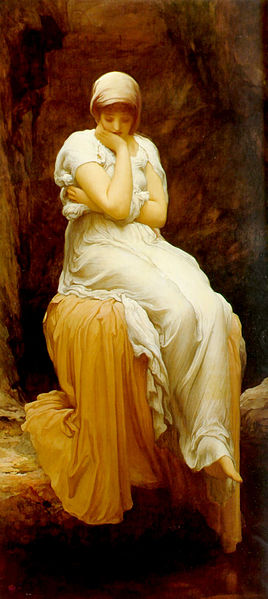 Solitude, by Frederick Leighton. circa 1890