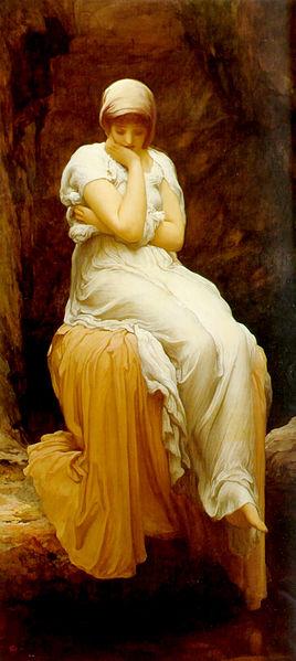 Solitude, by Frederick Leighton. circa 1890