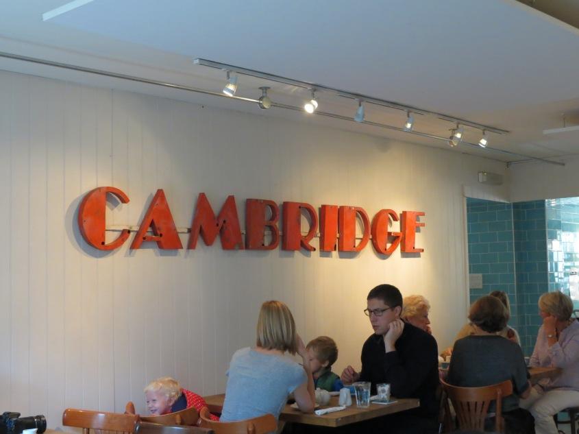 Cambridge updates ahead in particular!